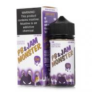 Жидкость Jam Monster 100 мл. ''PB & Jam Grape'' 3 мг./мл.