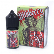 Жидкость LEARMONTH Salt - Milkberry 30мл/20мг