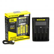 Зарядное устройство Nitecore Digicharger UM4 LCD