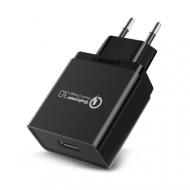 Сетевой адаптер QC 3.0, USB-220V/3A