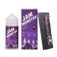 Жидкость Jam Monster 100 мл. ''Grape'' 3 мг./мл.